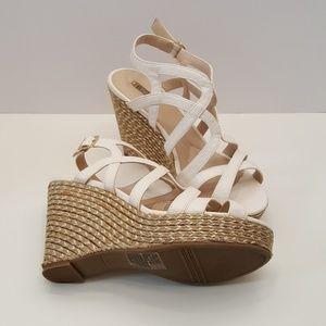 Jennifer Lopez Espadrille Wedge Sandal - SZ 10